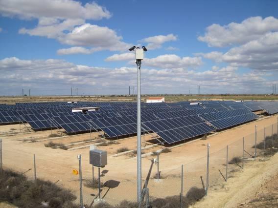 Planta geração de energia solar fotovoltaica