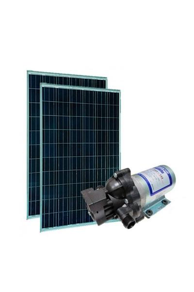 Kit Bomba Solar 12V Shurflo 2088 MAXX - até 35m ou 4.750 L/dia