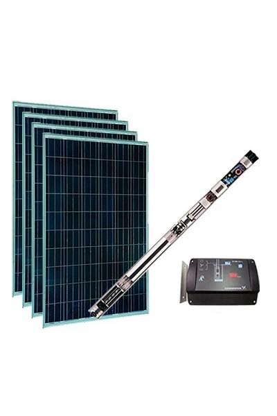 Kit Bombeamento Solar Grundfos para poço para energia Solar