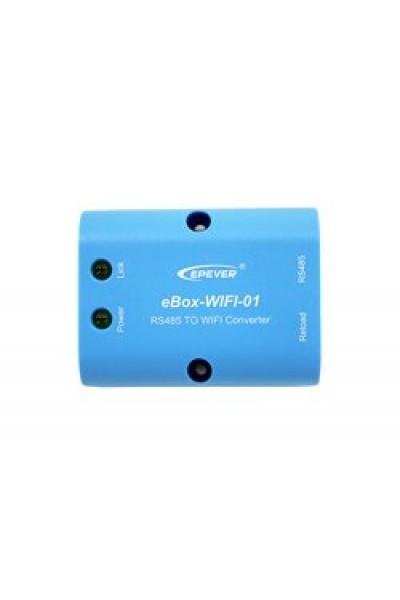 Adaptador WIFI Epever eBOX-WIFI-01 (Equipamento monitoramento)Voltar  Reiniciar  Excluir  Duplicar  Salvar  Salvar e Continuar