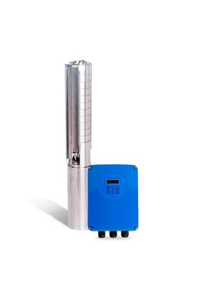 """Bomba Solar PRO Samking 1HP 3"""" 3SP2-9 - até 66m ou 34.200 L/dia"""