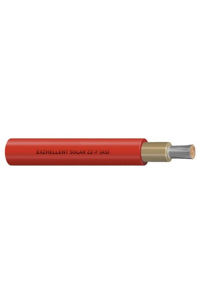 Cabo Solar General Cable 6mm - Vermelho