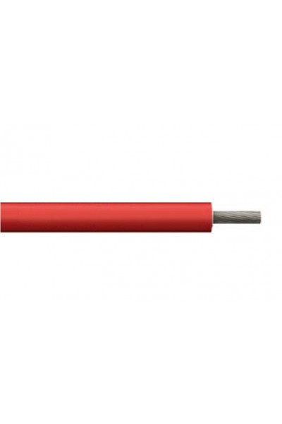 Cabo solar Prysmian Afumex 6mm² Vermelho 1kV