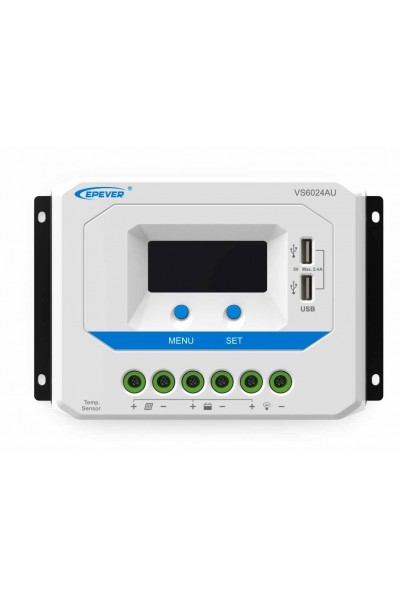 Controlador de Carga com display VS6024AU