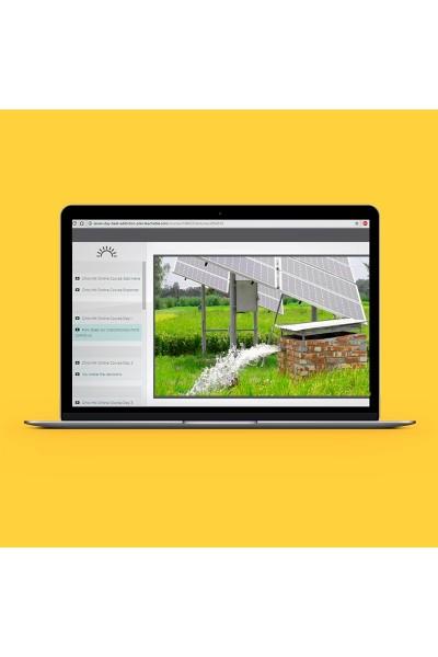 Curso Bombeamento de Água com Energia Solar - Online