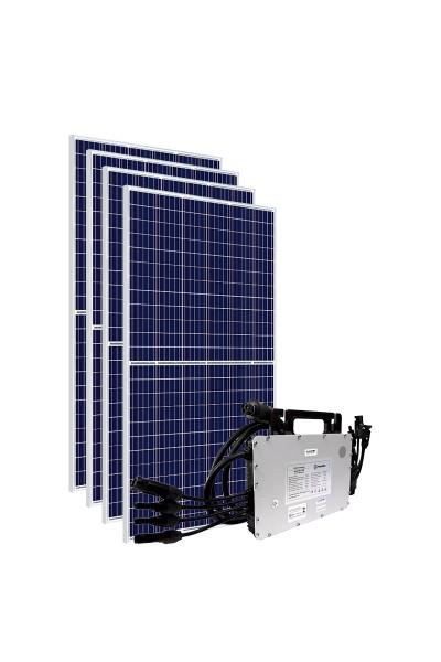 Kit Gerador Energia Solar 1,64 kWp - Sem Estrutura - Micro Inversor Hoymiles (WiFi) - Canadian - Mono 220V