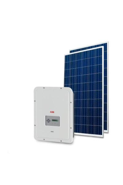 Gerador Solar 3,20kWp - Telha Ondulada - Trina - ABB - Mon 220V