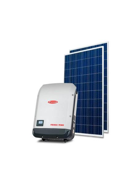 Gerador Solar 8,00kWp - Fibrocimento Madeira - Trina - Fronius - Mono 220V