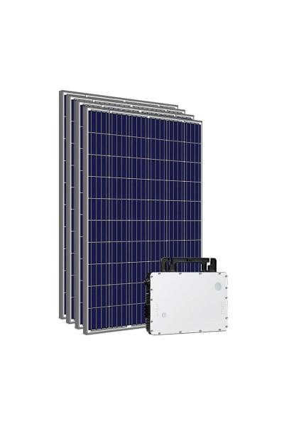 Kit Gerador Energia Solar com Microinversor Hoymiles - 1,32 kWp