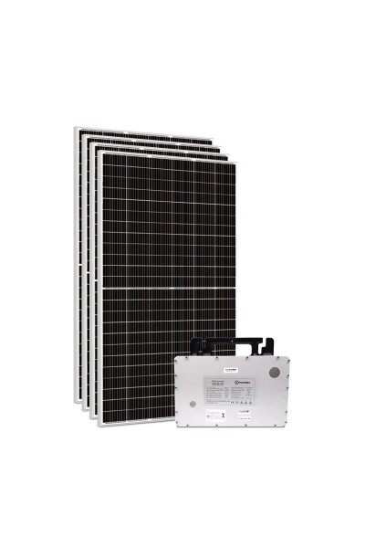 Kit Gerador Energia Solar com Microinversor Hoymiles - 1,80 kWp