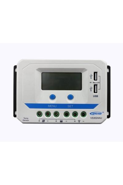 Controlador Viewstar VS3024AU com saida USB