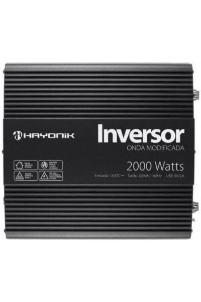 Inversor de 2000W 12/220V - Hayonik Onda Modificada