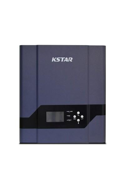 Inversor Hibrido Kstar de 1500W 12/220V com controlador PWM 50A
