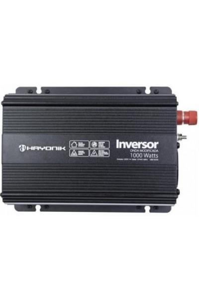 Inversor de 1000W 12/220V - Hayonik Onda Modificada