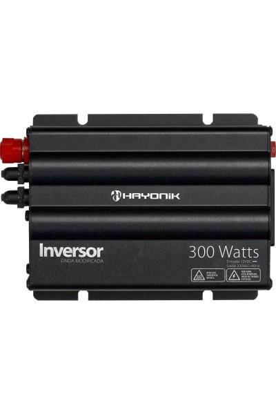 Inversor de 300W 12/127V - Hayonik Onda Modificada