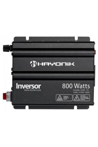 Inversor de 800W 12/220V - Hayonik Onda Modificada