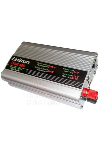 Inversor de 400W 12/115V - Unitron Onda Modificada