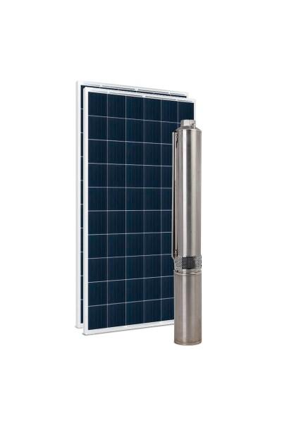 """Kit Bomba Solar PRO Samking 0,5HP 3"""" 3SPN2-5P STD - até 52m ou 18.900 L/dia"""