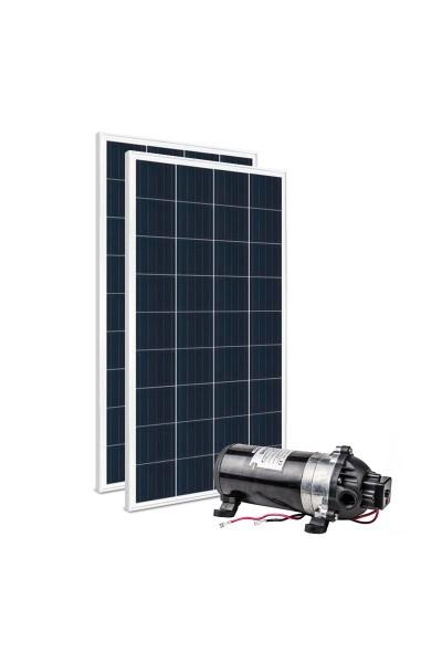 Kit Bomba Solar 12V Singflo DP-160 MAXX - até 110m ou 1.980 L/dia