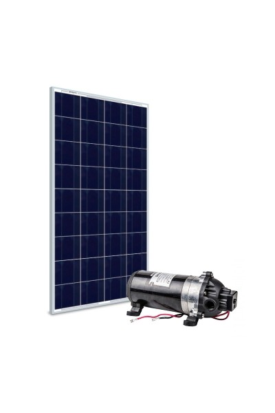 Kit Bomba Solar 12V Singflo DP-160 STD - até 35m ou 1.980 L/dia