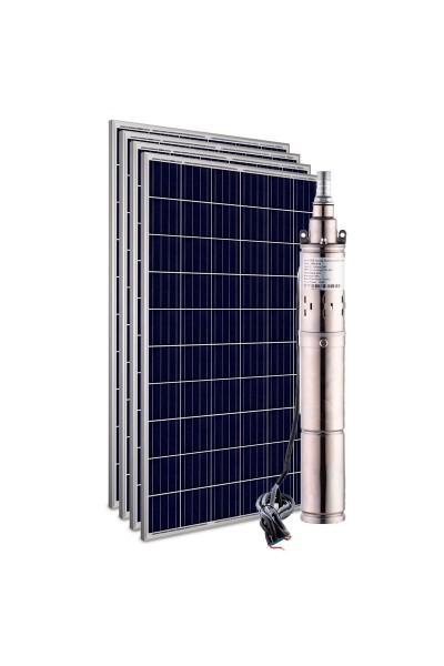 """Kit Bomba Solar Singflo 600W 3"""" 3JPB48-115 - até 115m ou 12.000 L/dia"""