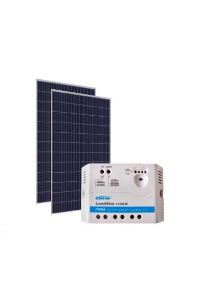 Kit Energia Solar Fotovoltaica 670Wp