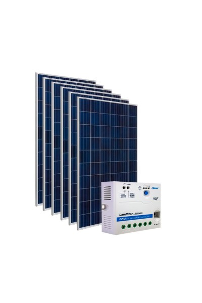 Kit Energia Solar Fovoltaica 930Wp