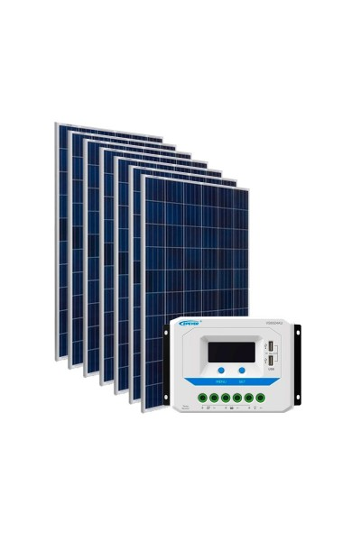 Kit Energia Solar Fotovoltaica 1050Wp 48Vcc - até 3.524 Wh/dia