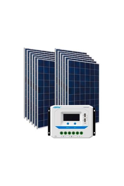 Kit Energia Solar Fotovoltaica 1800Wp 48Vcc - até 6.041 Wh/dia