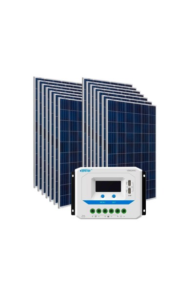Kit Energia Solar Fovoltaica 2170Wp
