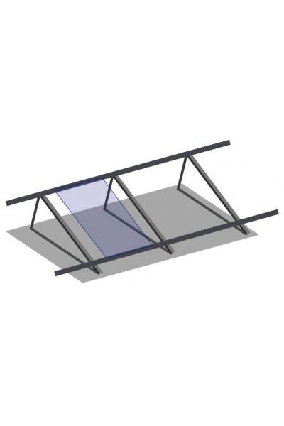 Kit de montagem SolarGroup para laje - 3 painéis fotovoltaicos