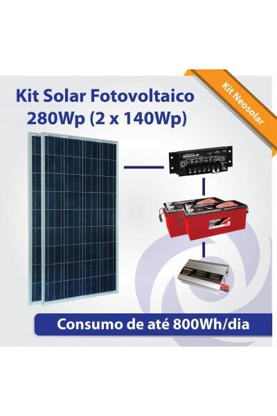 Kit Neosolar 280Wp - Energia Fotovoltaica