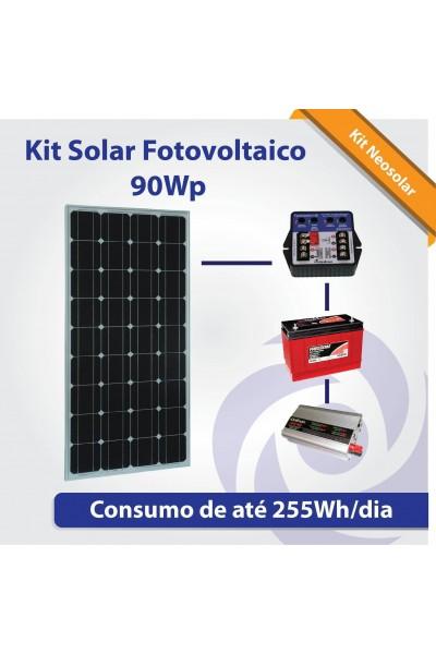 Kit Neosolar 90Wp - Energia Fotovoltaica