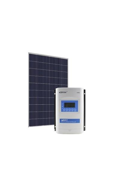Kit Energia Solar Fotovoltaica 280Wp 12/24Vcc - até 1.091 Wh/dia