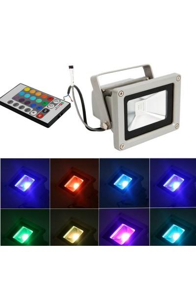 Refletor LED 10W RGB - LR10RB