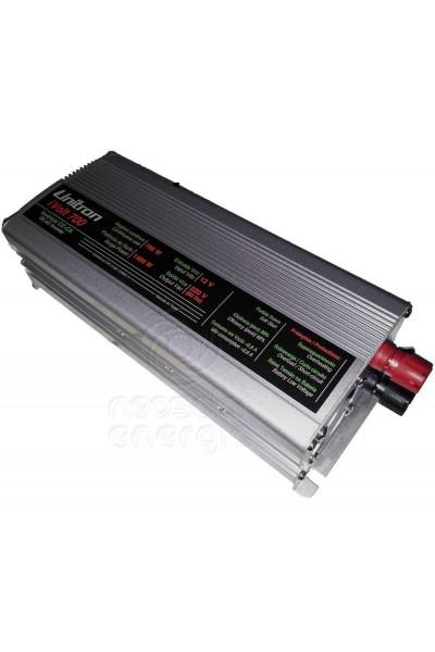 Inversor Solar Off Grid Unitron 12Vcc para 220Vca - 700W - Onda Modificada