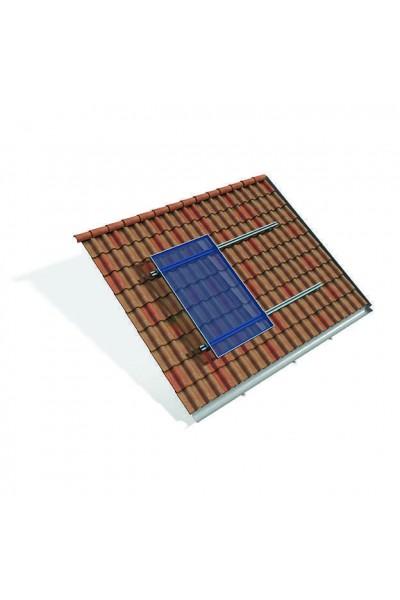 Estrutura de montagem Thesan para 4 painéis fotovoltaicos