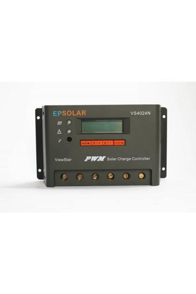 Controlador de Carga PWM 45A 12/24V - Epever Viewstar VS4524BN