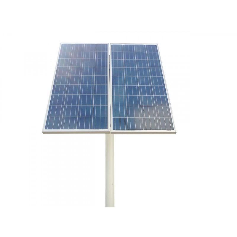 Estrutura para placas solares fotovoltaicas 2 placas for Baterias de placas solares