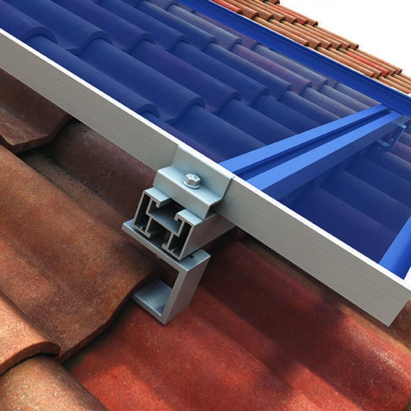 Energia Solar Suporte De Fixa 231 227 O Para Telhado Cer 226 Mico