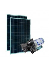 Kit bomba Solar - Shurflo 2088 - Painel Solar 180Wp