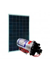 Kit bombeamento Solar - Shurflo 8000 - Painel Solar 155Wp