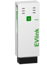 Carregador Carro elétrico EVlink Parking 2 tomadas 22 KW