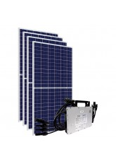 Gerador Solar com Microinversor Hoymiles - 1,64 kWp
