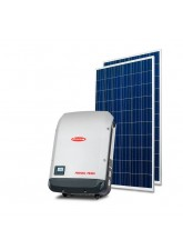Gerador Solar 8,00kWp - Telha Cerâmica - QPeak - Fronius - Mono 220V