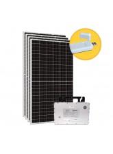 Kit Gerador Energia Solar 1,80 kWp - Sem Estrutura - Micro Inversor Hoymiles (WiFi) - Sunova - Mono 220V