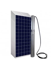 """Kit Bomba Solar PRO Samking 2HP 4"""" 4SP2-13 CC/CA MAXX - até 130m ou 28.800 L/dia"""