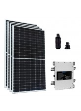 Kit Gerador Energia Solar 2,18 kWp - Microinversor Deye c/ Wifi Sun2000 - Painel Sunova