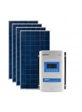 Kit Energia Solar Fotovoltaica 1120Wp 12/24Vcc - até 3.332 Wh/dia