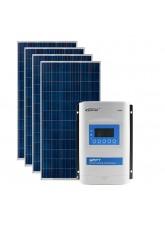 Kit Energia Solar Fotovoltaica 1360Wp 12/24Vcc - até 5.223 Wh/dia